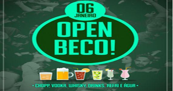 Festa Open Beco! com muito open bar a noite inteira no Beco 203 Eventos BaresSP 570x300 imagem
