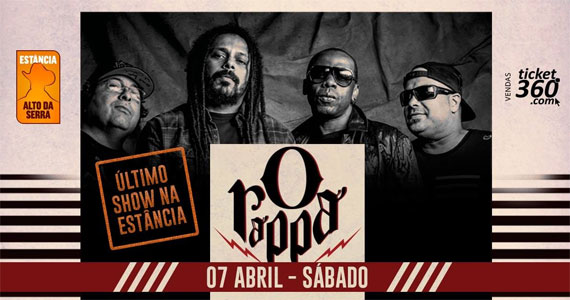 Banda O Rappa toca sucessos da carreira no palco do Estância Alto da Serra Eventos BaresSP 570x300 imagem