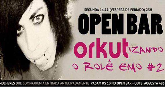 Segunda-feira tem 2ª Edição Especial Orkut Emo com Open Bar na Outs Eventos BaresSP 570x300 imagem
