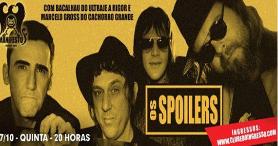 O melhor do classic rock no Manifesto Bar com o show da banda Os Spoilers Eventos BaresSP 570x300 imagem