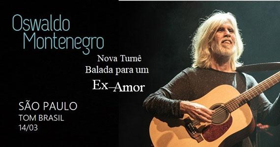 Oswaldo Montenegro apresenta seu novo show no Tom Brasil Eventos BaresSP 570x300 imagem