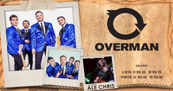 The Sailor Legendary Pub recebe toda animação da banda Overman e acústica Ale Chris Eventos BaresSP 570x300 imagem