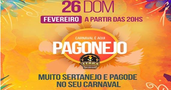 Pagonejo no domingo de carnaval com Viviane Saraiva, Claiton & Adriano, Batucada e Resenha, Grupo Q Isso e Pagode dos Pretin no Terra Country Eventos BaresSP 570x300 imagem