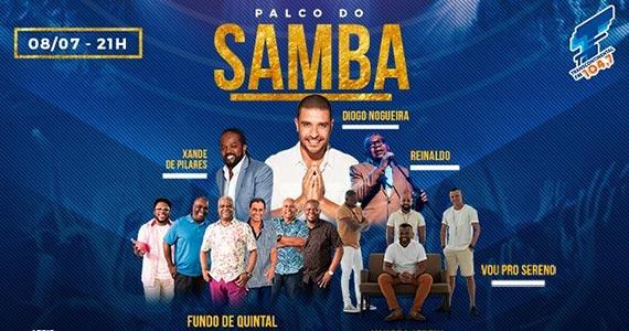 Espaço das Américas é palco do samba com Diogo Nogueira, Reinaldo, Xande e mais Eventos BaresSP 570x300 imagem