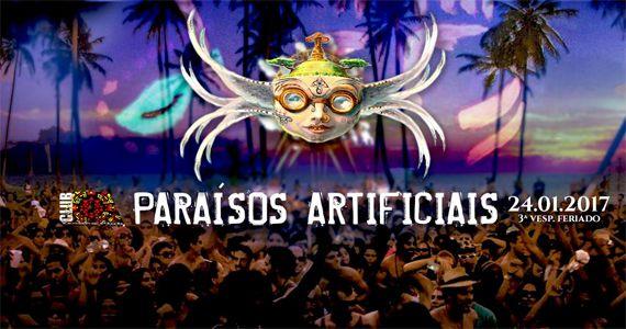 Festa Paraísos Artificiais no Club A universo paralelo Eventos BaresSP 570x300 imagem