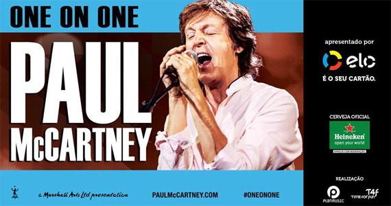 Paul McCartney se apresenta com a turnê One On One no Allianz Parque Eventos BaresSP 570x300 imagem