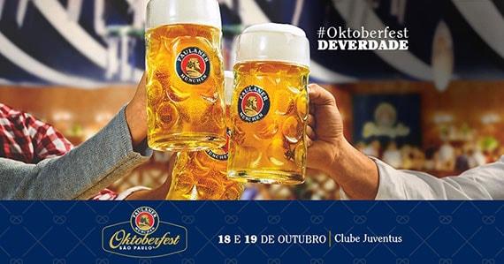 Paulaner Oktoberfest Brasil realiza nova edição Clube Juventus Eventos BaresSP 570x300 imagem