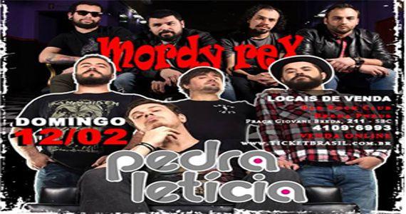 Banda Pedra Letícia e Mordy Rex trazem o melhor do rock no Bar Rock Club Eventos BaresSP 570x300 imagem