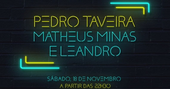 A dupla Matheus Minas & Leandro e Pedro Taveira levam sua música para o Villa Mix Eventos BaresSP 570x300 imagem