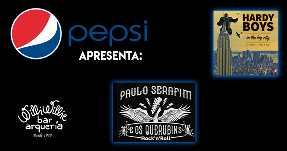Pepsi Rock Night apresenta bandas de rock no Willi Willie