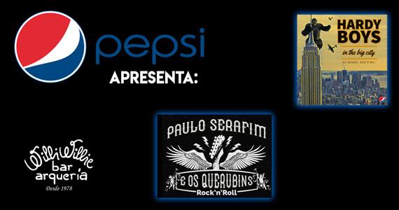 Pepsi Rock Night apresenta bandas de rock no Willi Willie Eventos BaresSP 570x300 imagem