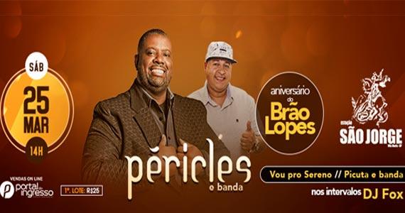 Estação São Jorge traz o show do cantor Péricles  Eventos BaresSP 570x300 imagem