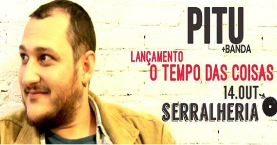 O cantor Pitu lança o seu primeiro disco autoral O tempo das coisas na Serralheria Eventos BaresSP 570x300 imagem