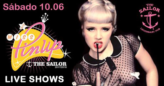 The Sailor recebe 4ª edição do Miss Pin-Up ao som da banda Insônica no sábado Eventos BaresSP 570x300 imagem