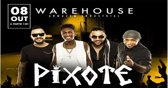 O pagode do Grupo Pixote anima a tarde de sábado no Warehouse do Brás Eventos BaresSP 570x300 imagem