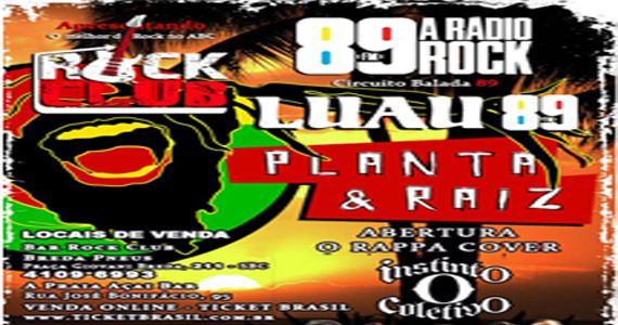 Show do Planta & Raiz e cover do O Rappa com a banda O Instinto Coletivo no Bar Rock Club Eventos BaresSP 570x300 imagem