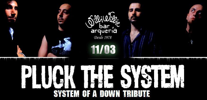 Programação - Pluck the System - System of a Down Tribute