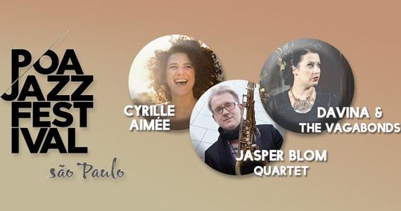 Teatro Opus será contagiado pelo Poa Jazz Festival São Paulo em Novembro Eventos BaresSP 570x300 imagem