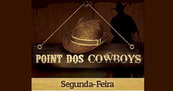 Marcello Campos, Nayara Sayuri e Eder Brandão agitando o Point dos Cowboys no Coração Sertanejo Eventos BaresSP 570x300 imagem