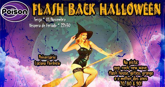 Flash Back Halloween anima a véspera de feriado do Poison Bar e Balada Eventos BaresSP 570x300 imagem