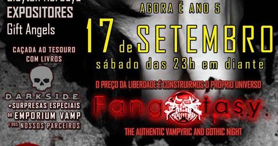 Festa Fangxtasy com DJs convidados nas pick-ups do Poison Bar e Balada Eventos BaresSP 570x300 imagem
