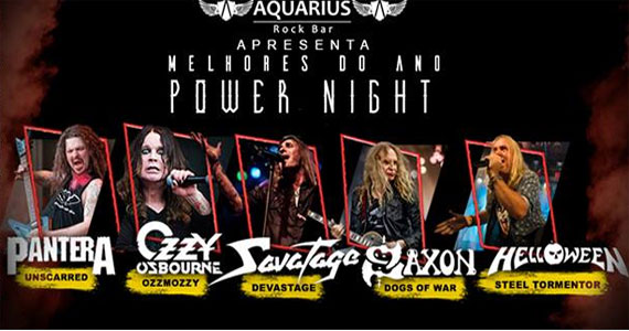 Noite com o rock do Pantera, Ozzy Osbourne, Savatage e mais no Aquarius Rock Bar Eventos BaresSP 570x300 imagem
