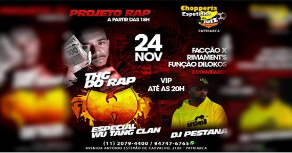 Projeto Rap da ZL com THG do Rap e Dj Pestana no Espetinho do Juiz Eventos BaresSP 570x300 imagem