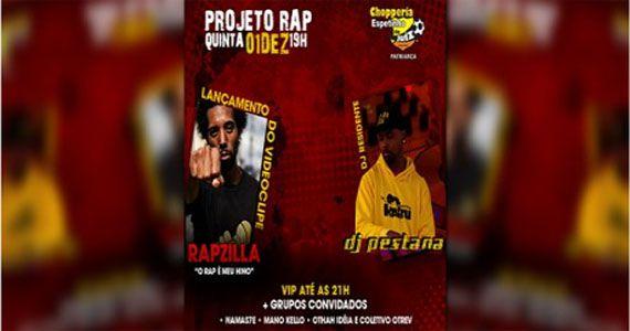 Quinta-feira vai rolar o Projeto Rap da ZL com Rapzilla e Dj Pestana no Bar Espetinho Juiz - Patriarca Eventos BaresSP 570x300 imagem