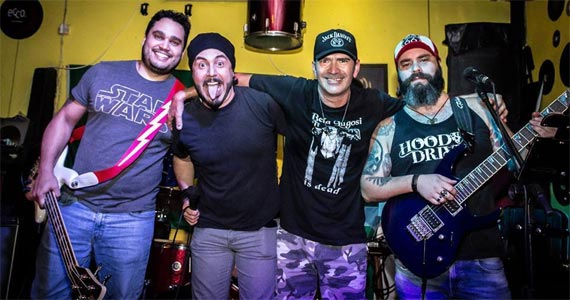A banda paulistana Psycho Peter se apresenta na Casa Amarela Pub Eventos BaresSP 570x300 imagem