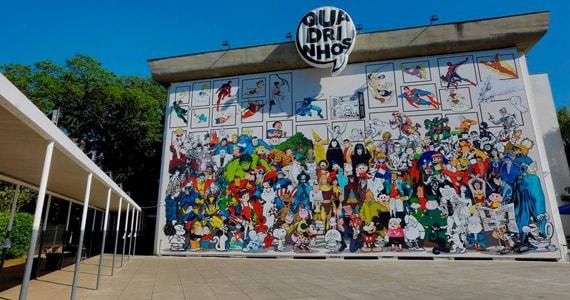Exposição Quadrinhos fica em exposição do Museu da Imagem e do Som Eventos BaresSP 570x300 imagem