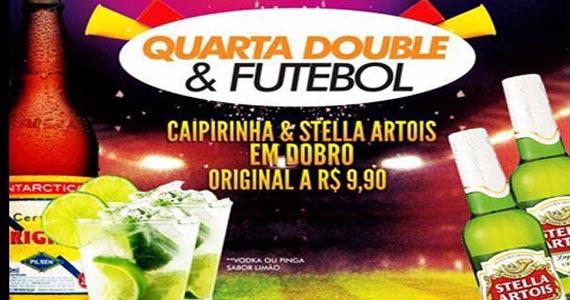 Quarta Double Caipirinha e Stella Artrois com Futebol no Boteco Vila Rica Eventos BaresSP 570x300 imagem