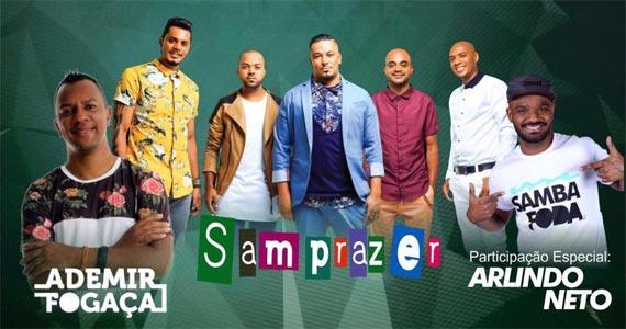 Eventos AgendaRoda de Samba com Ademir Fogaça, Samprazer e Arlindo Neto animando a quarta na Companhia da Cerveja BaresSP