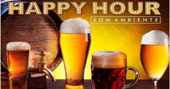 Happy Hour com petisco, chopp e música ambiente no Bar Santa Julia Eventos BaresSP 570x300 imagem
