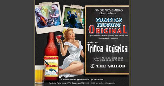 Quartas de Boteco com Open Beer Original no The Sailor Legendary Pub Eventos BaresSP 570x300 imagem