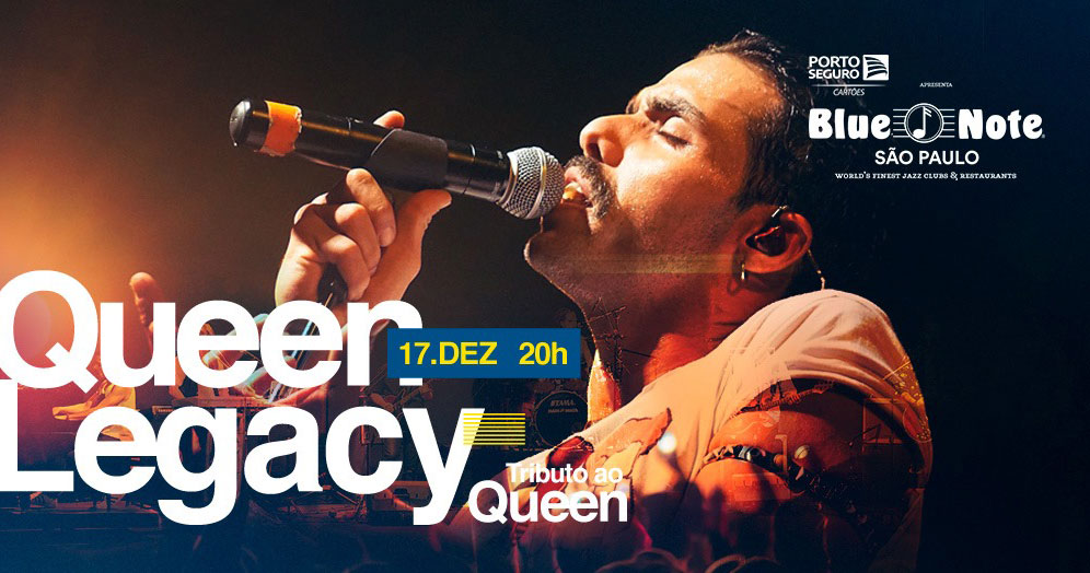 Blue Note recebe QUEEN LEGACY - Tributo ao Queen
