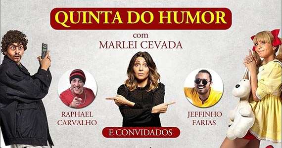 Quintas com Humor no Elidio Bar