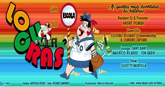 Festa Locuras - As quintas mais fervidas no A Lôca com muito pop atual, dance, house e flash back Eventos BaresSP 570x300 imagem