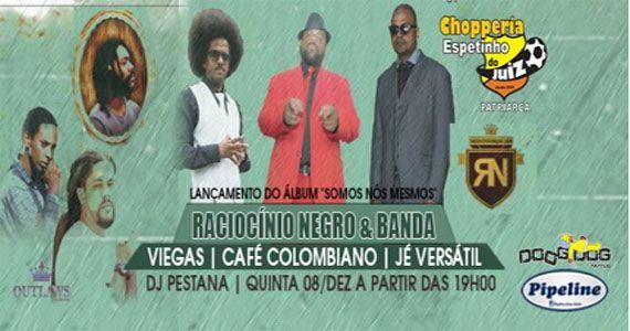 Quinta Projeto Rap com Raciocínio Negro & Banda, Viega, Kafé Colombiano e Jé Versátil no Bar Espetinho do Juiz Patriarca Eventos BaresSP 570x300 imagem