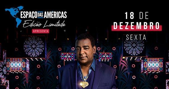 Raça Negra se apresenta no palco do Espaço das Américas  Eventos BaresSP 570x300 imagem