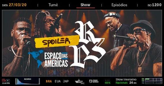 Racionais MCs apresenta show Racionais 3 Décadas no Espaço das Américas Eventos BaresSP 570x300 imagem