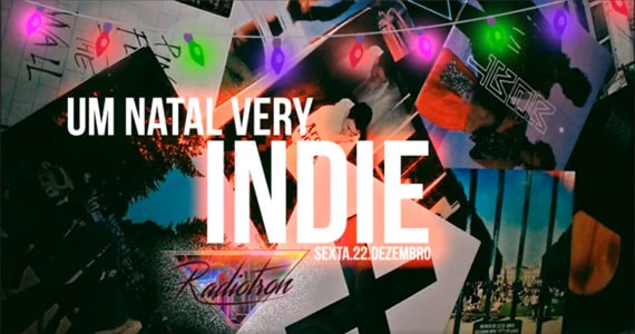 Um Natal Very Indie com o melhor do Indie Rock, Alternativo, Brit Pop e 80's no Alberta#3 Eventos BaresSP 570x300 imagem