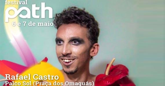 Festival Path apresenta show do cantor Rafael Castro na Praça dos Omaguás Eventos BaresSP 570x300 imagem