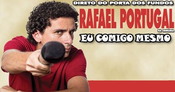 Direto do Porta dos Fundos Rafael Portugal na comédia Eu Comigo Mesmo no Teatro Frei Caneca Eventos BaresSP 570x300 imagem