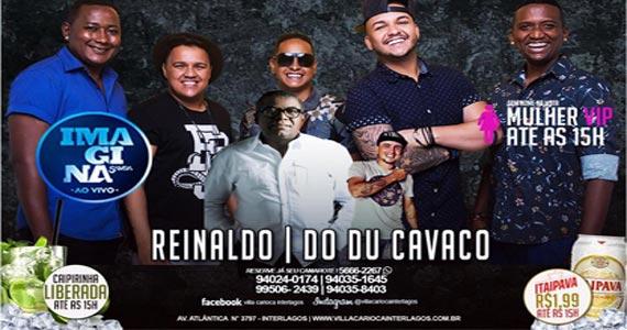 Feijoada com pagode de Reinaldo, Imagina Samba e Do Du Cavaco soltando a voz no Carioca Interlagos Eventos BaresSP 570x300 imagem