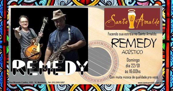 Trade de domingo com o melhor do pop rock com a banda Remedy Acústico no Bar Santo Arnaldo Eventos BaresSP 570x300 imagem