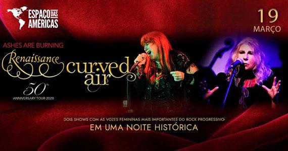 Renaissance retorna ao Espaço das Américas com turnê comemorativa Eventos BaresSP 570x300 imagem