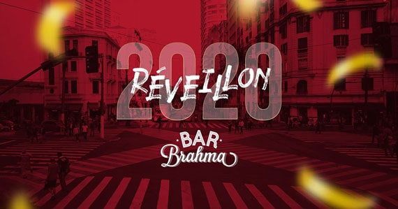 Réveillon 2020 com open bar, ceia completa e shows no Bar Brahma