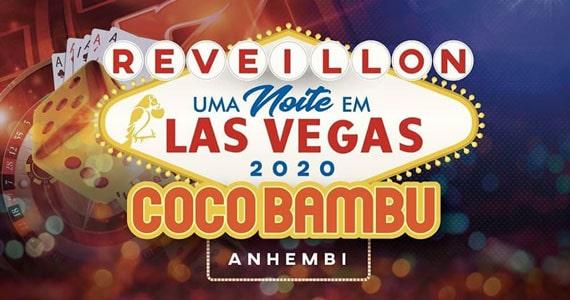 Coco Bambu Anhembi celebra ano novo com a festa Las Vegas Eventos BaresSP 570x300 imagem