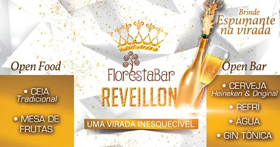 Réveillon no Floresta Bar