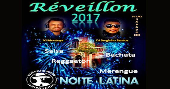 Sábado acontece a Festa de Réveillon 2017 com DJ Serginho Santos no Café Velho Pietro Eventos BaresSP 570x300 imagem
